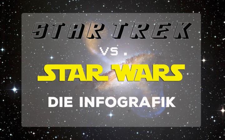 infografik star wars star trek