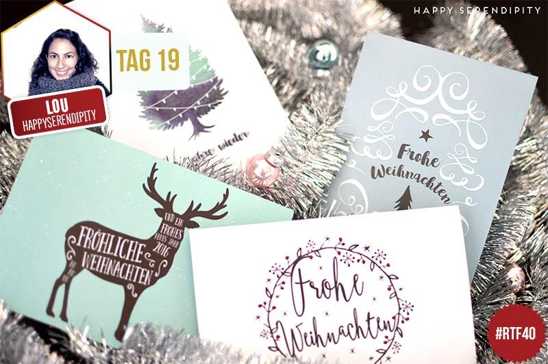 Tag 19 - Free Printable: Weihnachtskarten - radbag