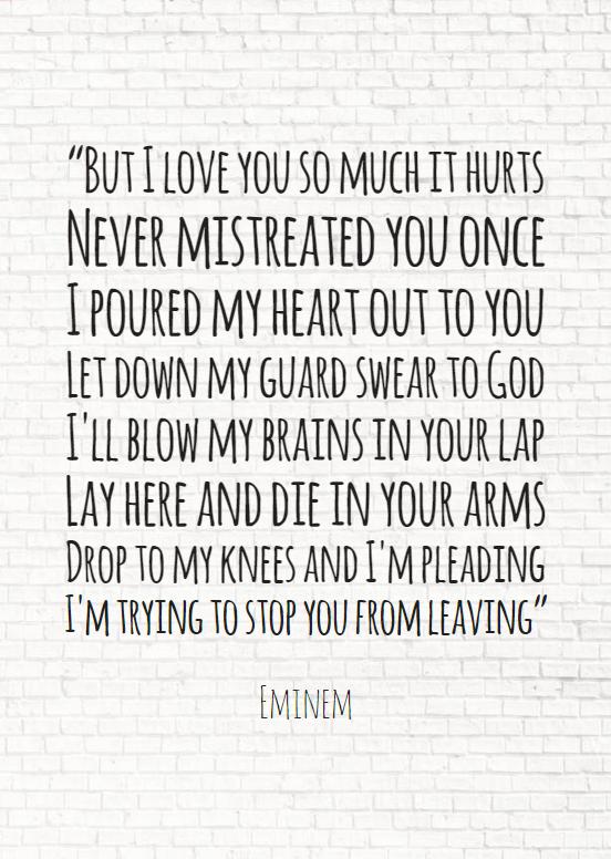 Lyrics Valentinstag romantisch Quote