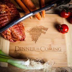 Dinner is coming Schneidebrette
