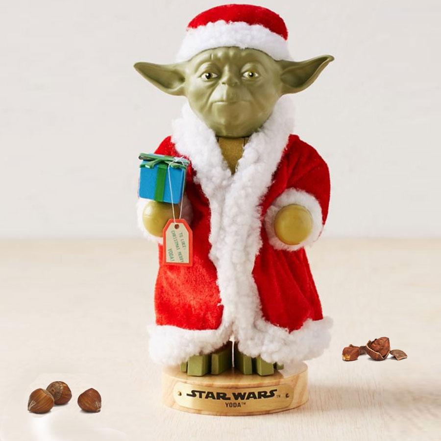Weihnachtsgeschenke yoda nussknacker