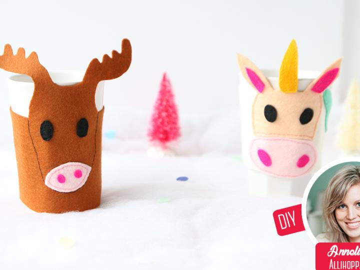 DIY Weihnachtsbilder mit Lettering für dein Zuhause
