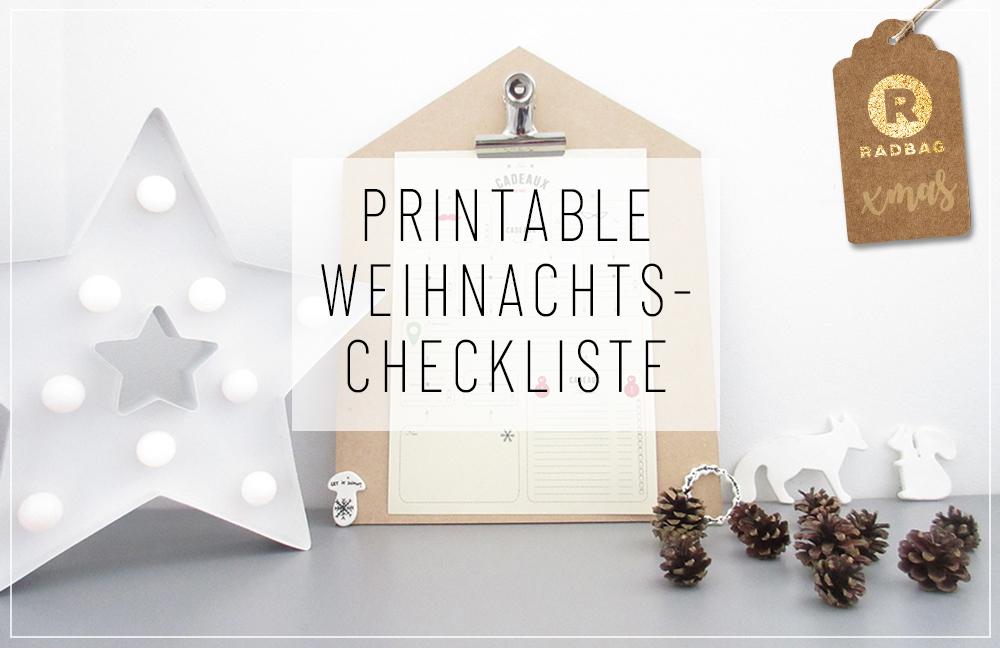 Deine persönliche Geschenke-Checkliste