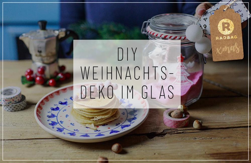 Diy Weihnachtsdekoration Im Glas
