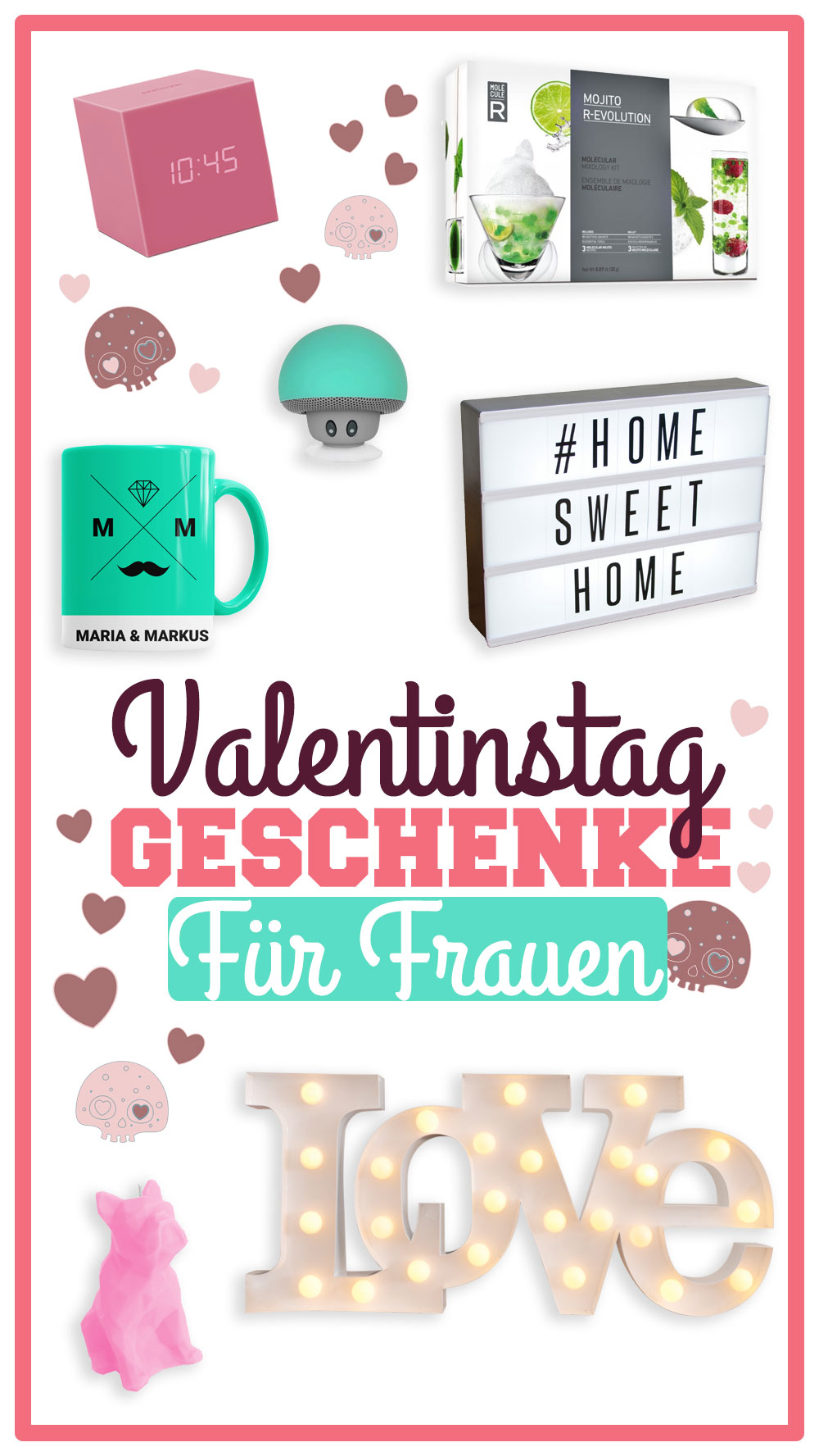 valentinstag geschenke f r frauen umwerfende frauen radbag. Black Bedroom Furniture Sets. Home Design Ideas