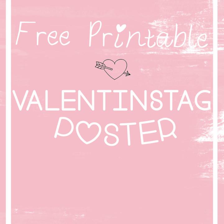 Valentinstag Poster