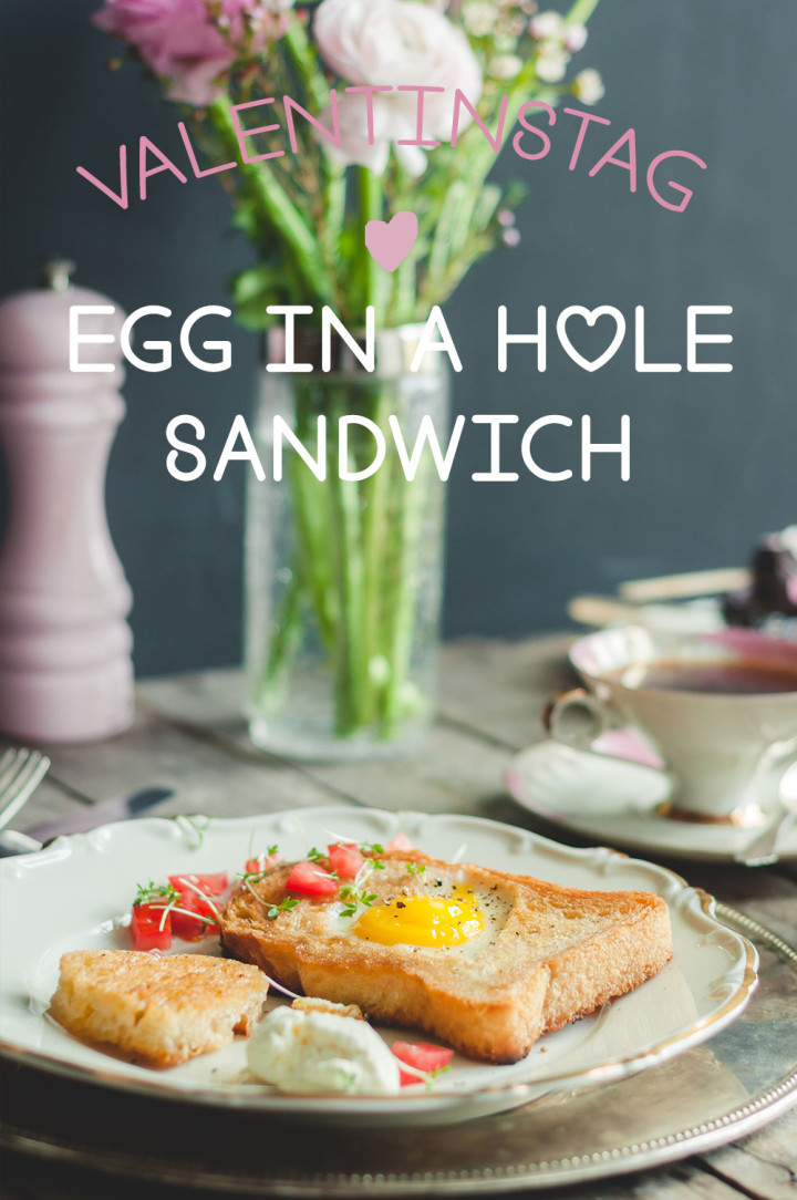 Egg in a hole Sandwich