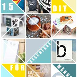 15 DIY Geschenke für Männer