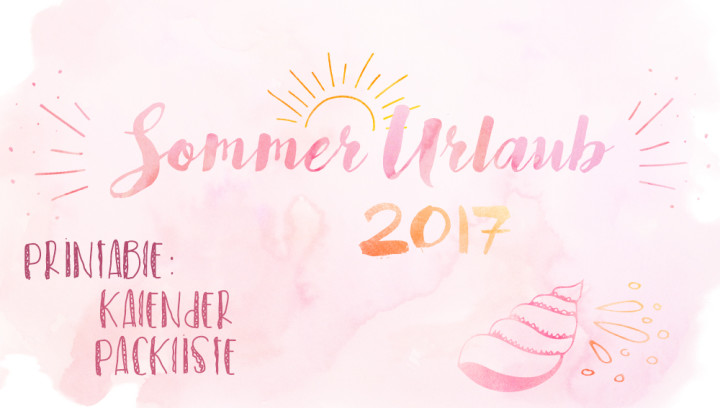 Sommerferien 2017