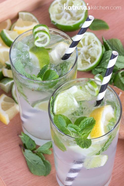 Rezept für alkoholfreie Cocktails
