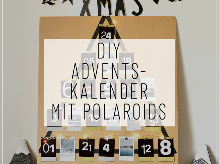 adventskalender mit polaroids