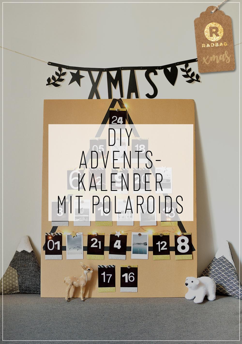 dein sch ner polaroid adventskalender selber basteln. Black Bedroom Furniture Sets. Home Design Ideas