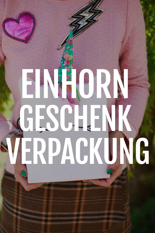 689fdffb2476a6 Einhorn Geschenktüten für magische Geschenke - radbag