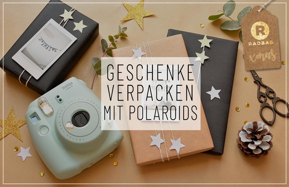 Weihnachtsgeschenke Geschenke.Diy Weihnachtsgeschenke Verpacken Mit Polaroids