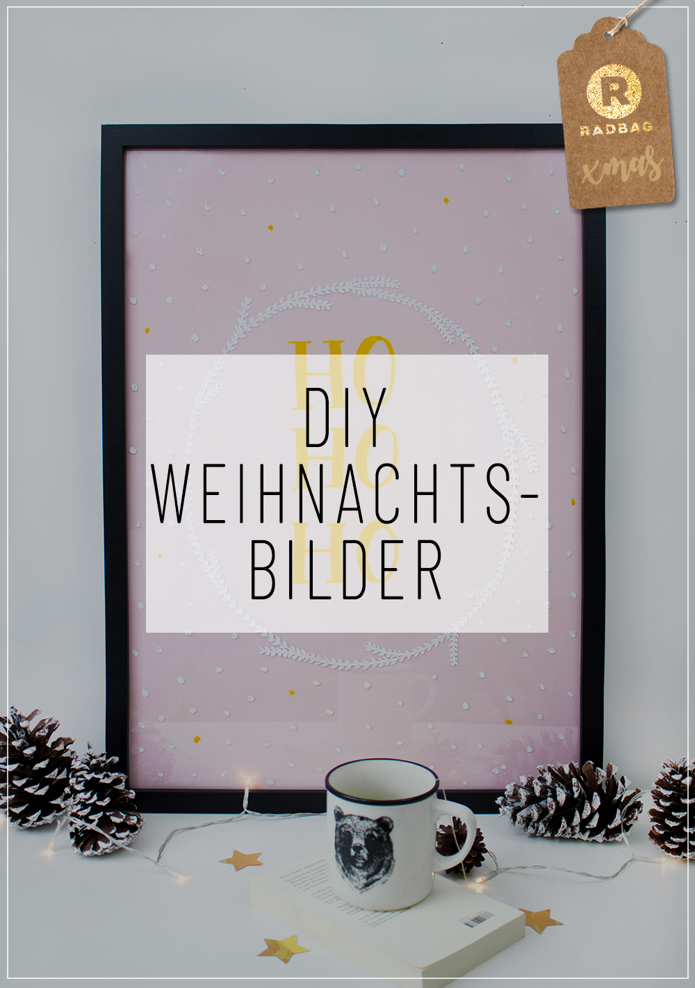 diy weihnachtsbilder mit lettering f r dein zuhause. Black Bedroom Furniture Sets. Home Design Ideas