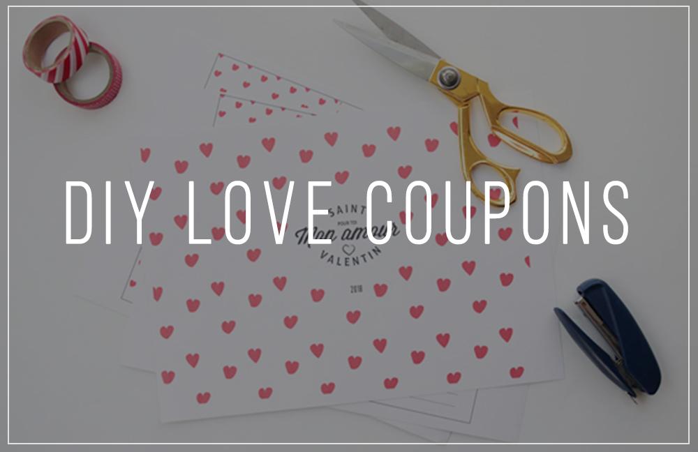 Free Printable Love Coupons Als Perfektes Valentinstag Geschenk