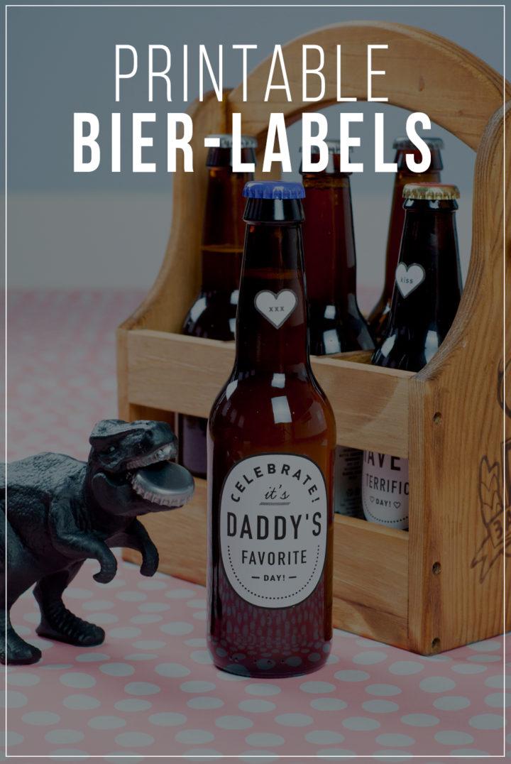 Vatertag Geschenk - Bierlabel