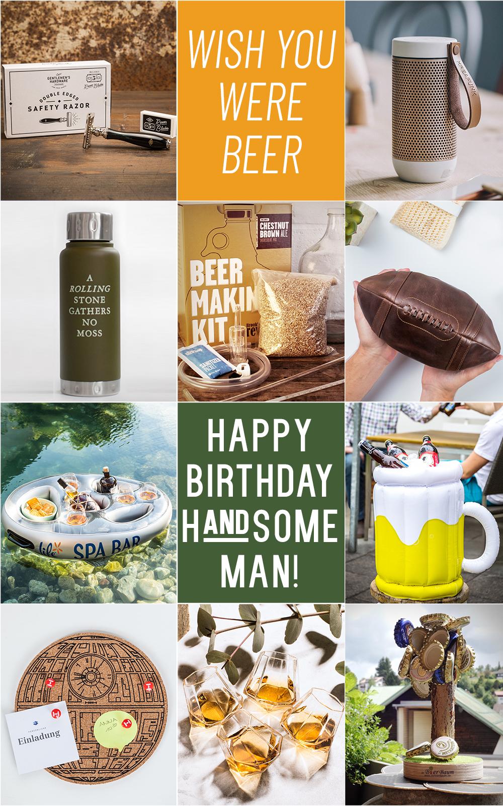 Geburtstagsgeschenke für Männer