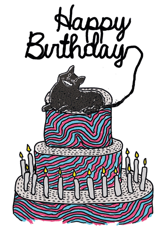 Happy Birthday Karte