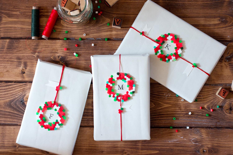 Geschenkverpackungen zu Weihnachten