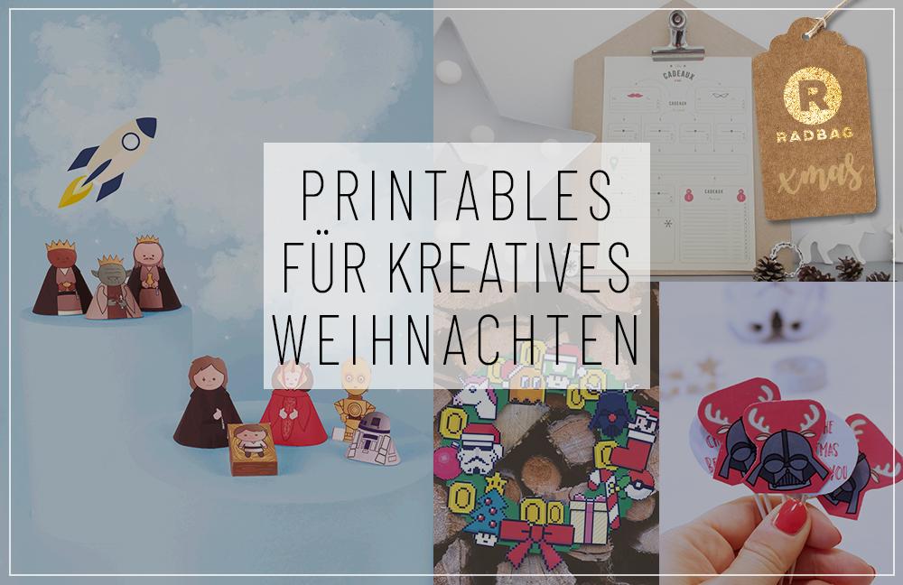 Printables zu Weihnachten