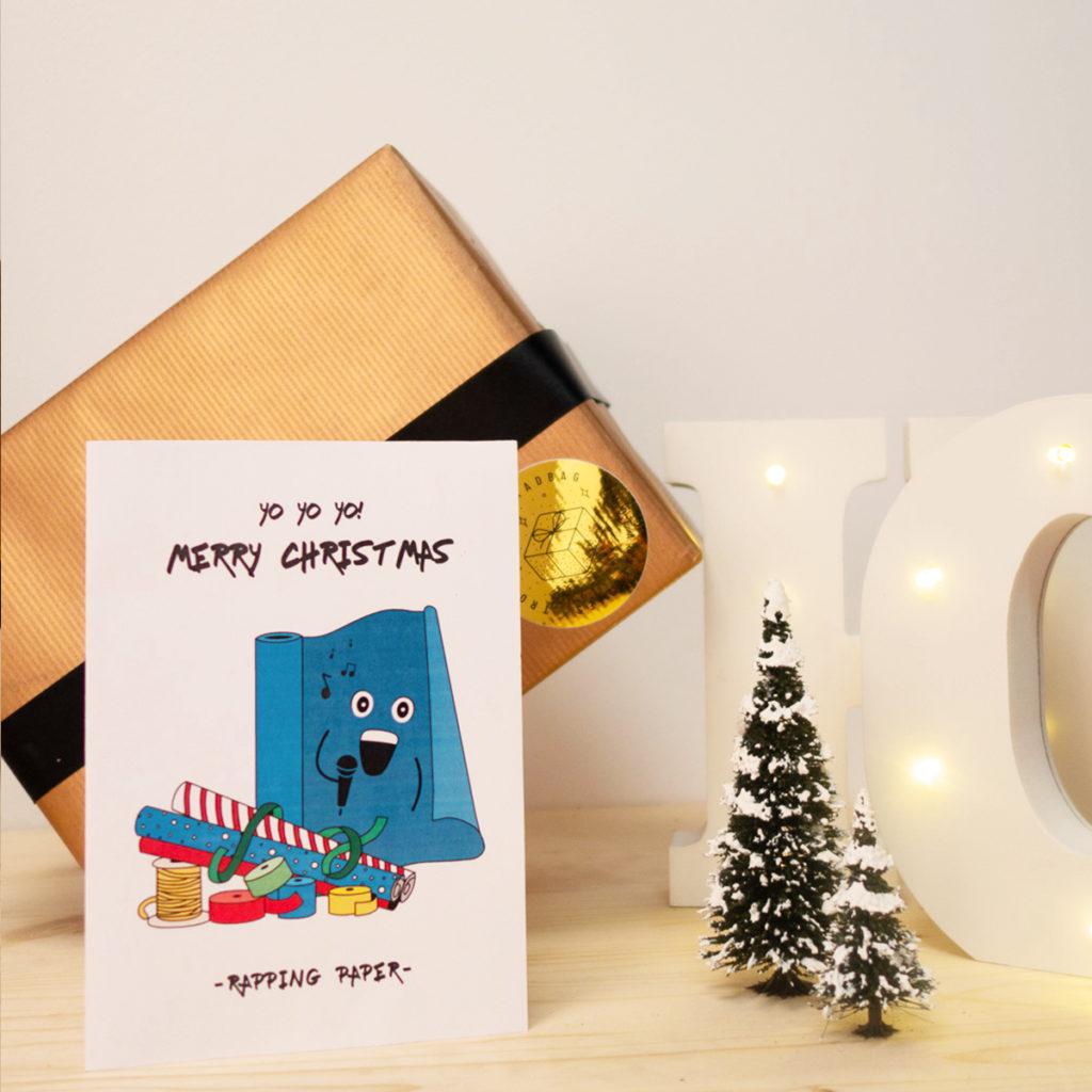 Weihnachtskarten zum ausdrucken