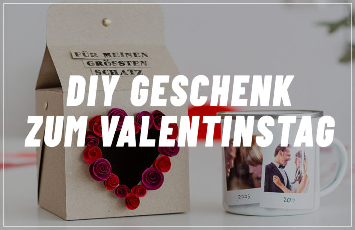 Valentinstag Geschenk selbermachen: Fotogeschenk