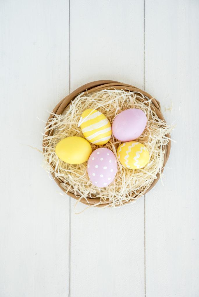 Ostereier bemalen - Ostereier färben