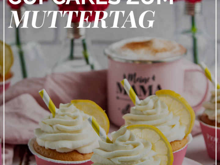Gin Tonic Cupcakes - printable cupcake wrapper muttertag