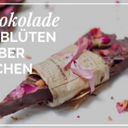 Schokolade selber machen - Rezept zum Muttertag