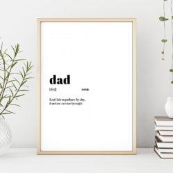 selbgemachtes Geschenk zum Vatertag