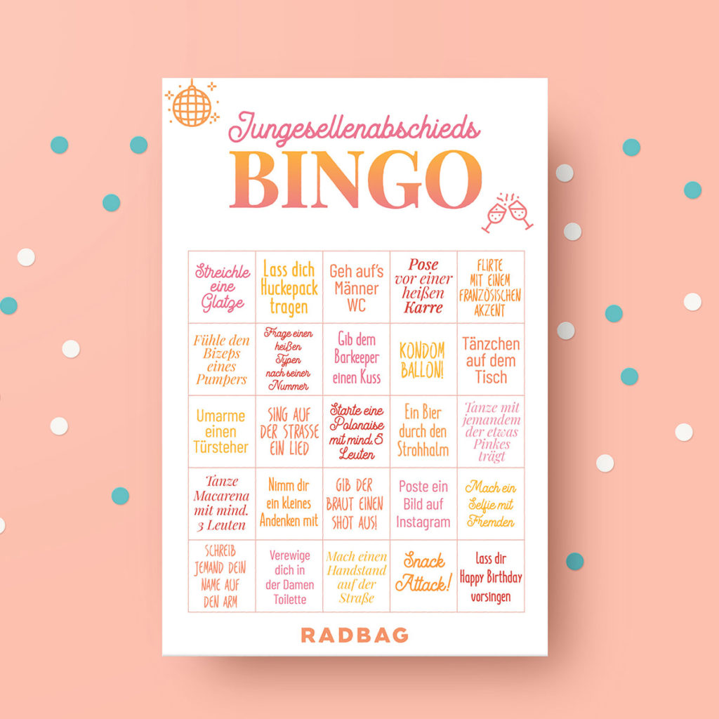 Jungesellenabschied - spiele - bingo -foto challenge - bucketlist - bachelorette (1)
