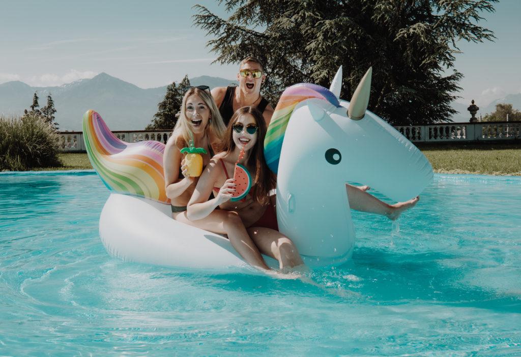 Einhorn Schwimmtier Sommerferien