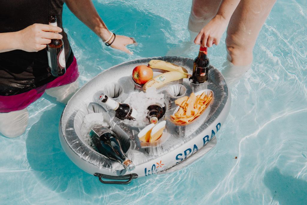 Sommer Gadgets Poolbar Sommerferien