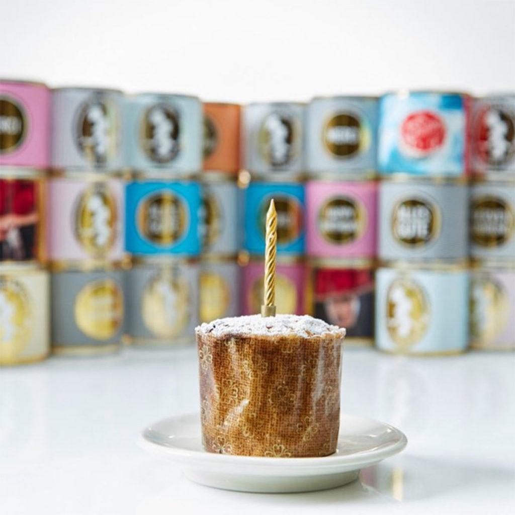 Geburtstagsgeschenke Geburtstagskuchen aus der Dose