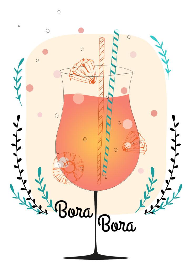 Einfache Cocktails für den Sommer Bora Bora