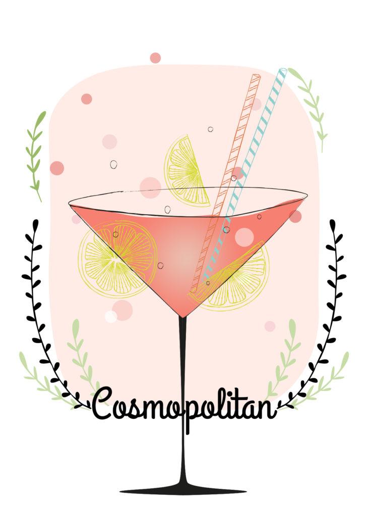 Einfache Cocktails für den Sommer Cosmopolitan