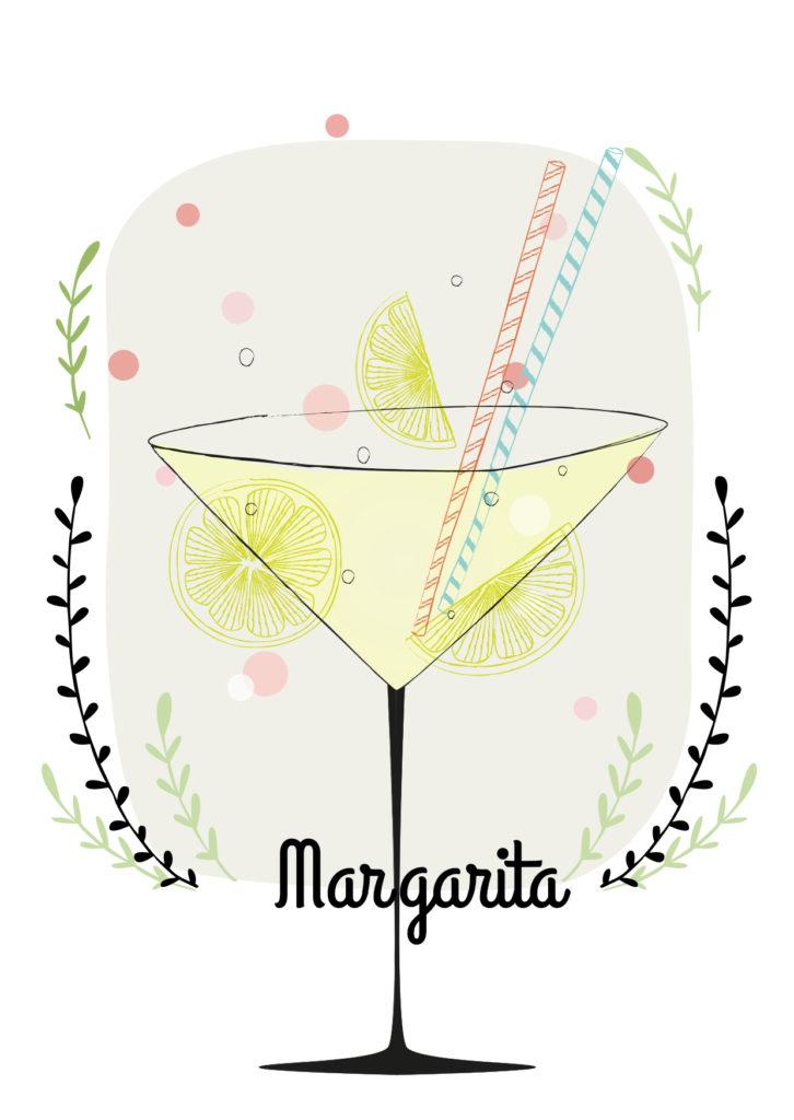Einfache Cocktails für den Sommer Margarita