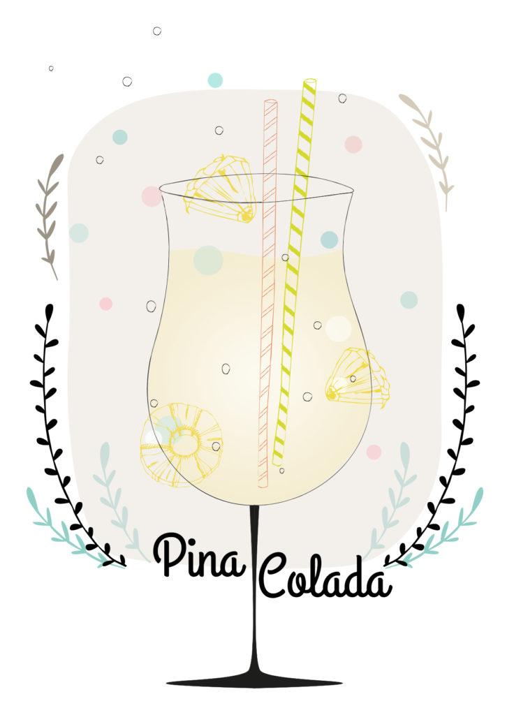 Einfache Cocktails für den Sommer Pina Colada