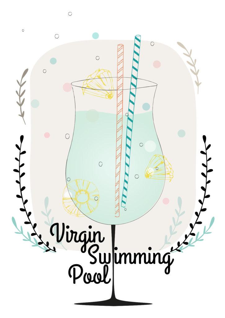 Einfache Cocktailrezepte für den Sommer Virgin Swimmingpool