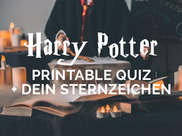 Harry-Potter-Quiz-zum-ausdrucken