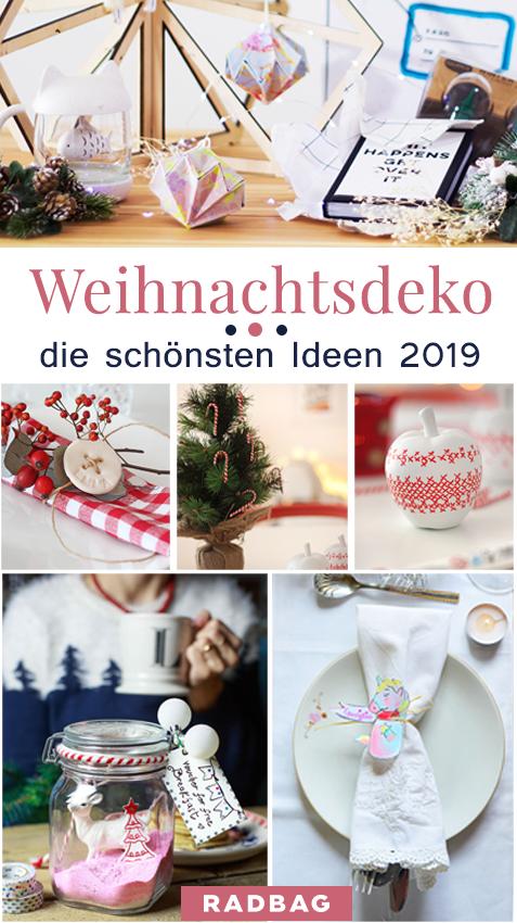 Weihnachtsdeko Selber Basteln Die Schönsten Ideen Inkl