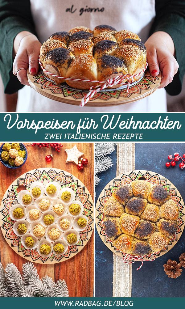 Rezepte für Vorspeisen zu Weihnachten