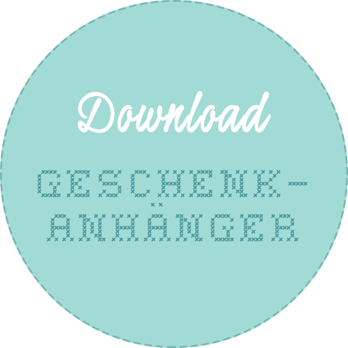 Geschenkanhänger Weihnachten download