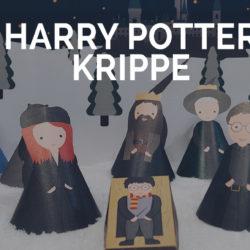 harry potter krippe zum ausdrucken