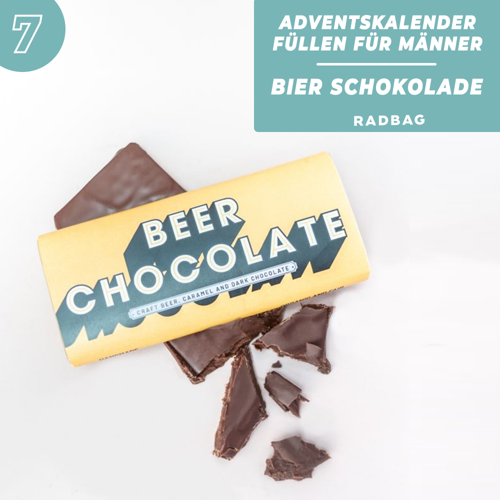 Tag 7: Leckere Bier Schokolade