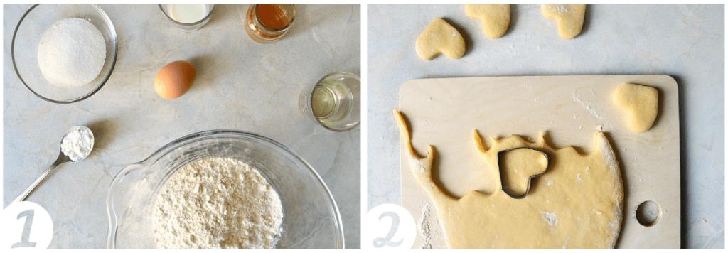 Beignets in Herzform einfaches Rezept zum Valentinstag (4)