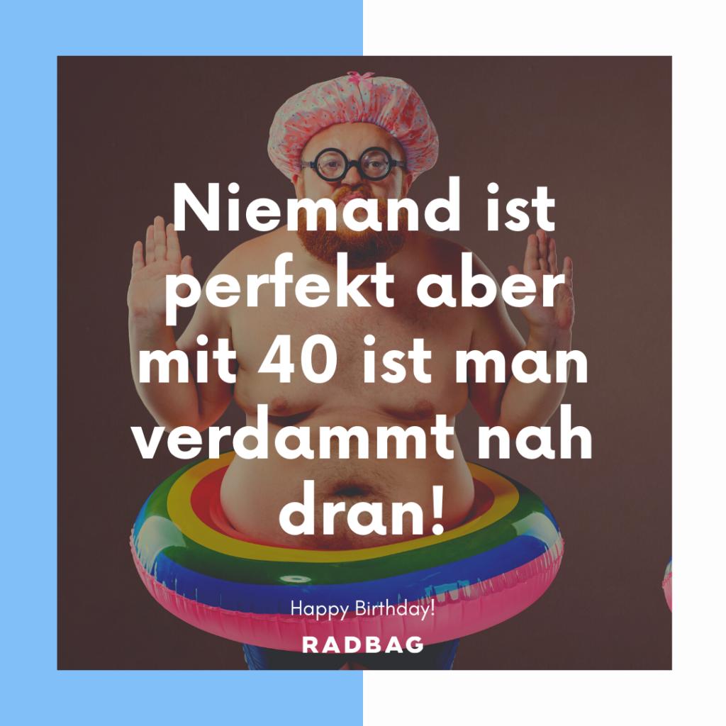 Geburtstag 40 Sprüche