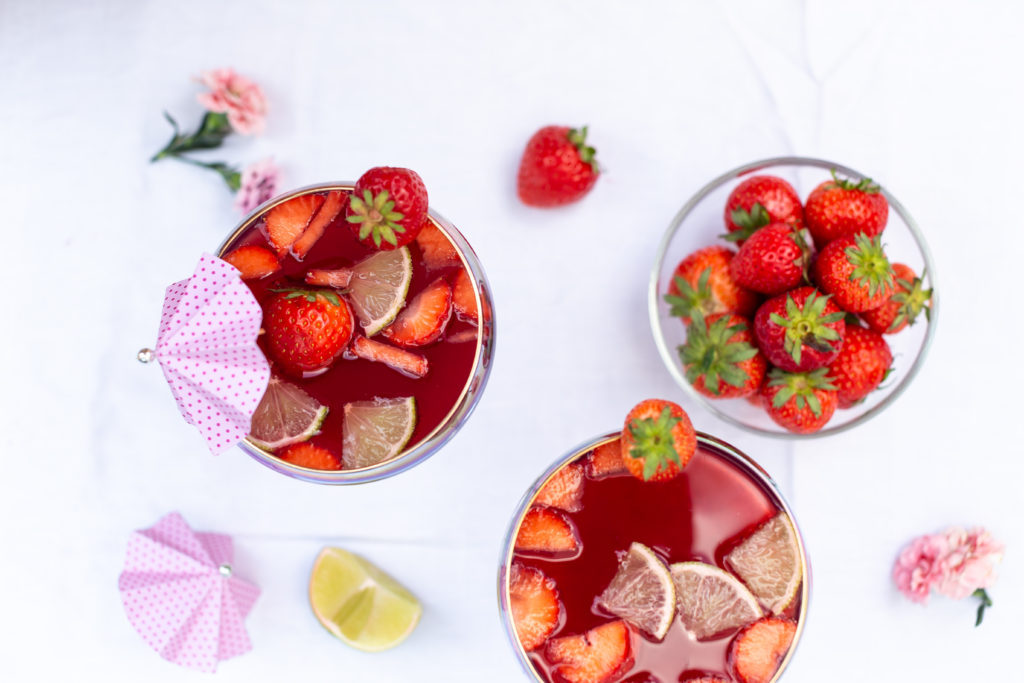 Strawberry Daiquiri Cocktail Rezept
