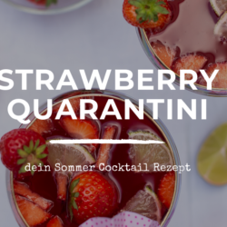 Strawberry Daiquiri Cocktail Rezept - Sommer Cocktail Header